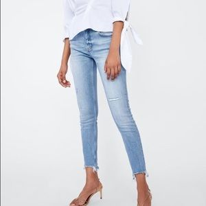 12c52e59 Zara Jeans - Zara Skinny Jeans Sonora Blue
